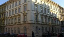 Amtsgebäude der Österreichischen Botschaft in Prag