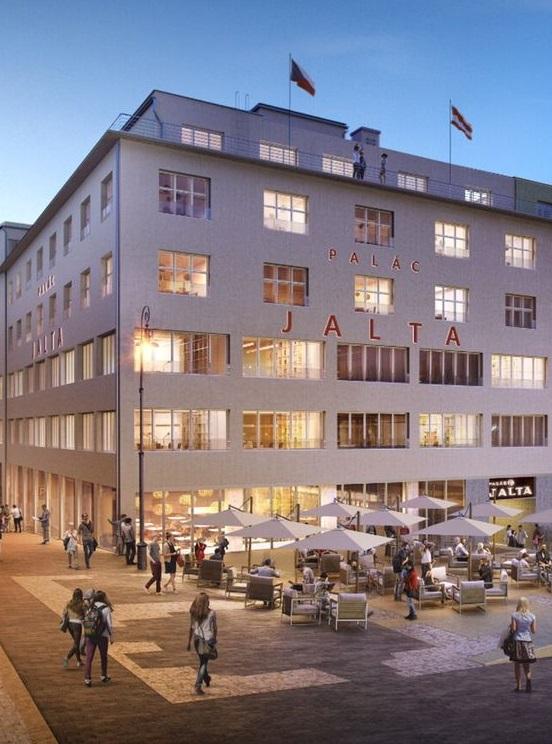 Amtsgebäude des Österreichischen Honorarkonsulates in Brünn