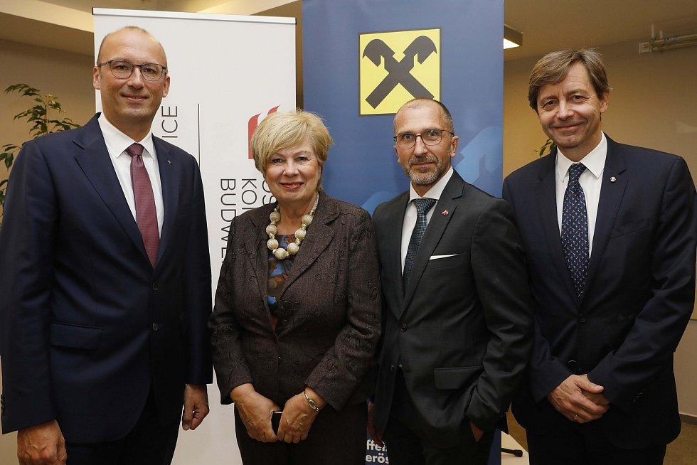 Empfang anlässlich österreichischer Nationalfeiertag in Budweis